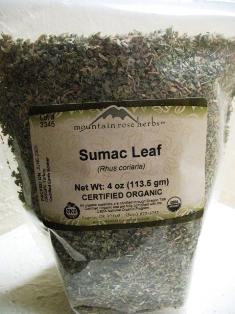 Sumac-leaf