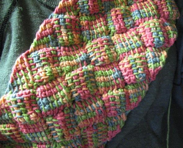 Entrelac Afghan Knitting Pattern : entrelac-true_tunisian BeStrixed
